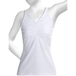 prAna Sabin Tank Top - Racerback (For Women) in White