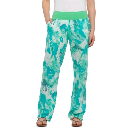9a48a5db7a768 prAna Sansa Cover-Up Pants - Organic Cotton (For Women) in Light Jade