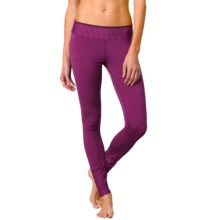 prAna Sapphire Leggings (For Women) in Black Plum Stripe - Closeouts