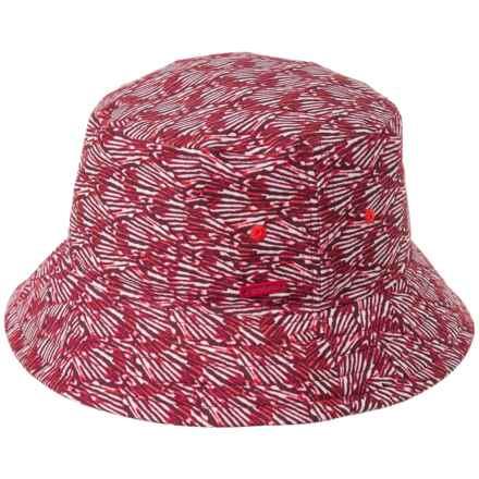 3cd8d796512 prAna Sea Shells Bucket Hat (For Women) in Pomegranate Seashells - Closeouts