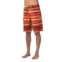 prAna Seaton Boardshorts - UPF 50+ (For Men) in Crimson - Closeouts
