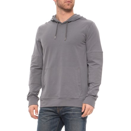 dbe08c1678dba prAna Sector Hoodie - Organic Cotton (For Men) in Gravel - Closeouts