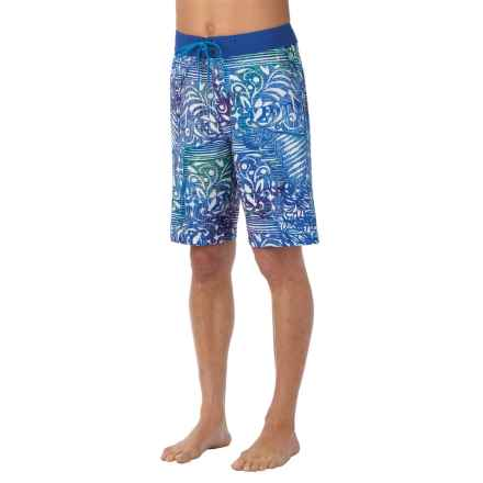 prAna Sediment Boardshorts (For Men) in Blue - Closeouts