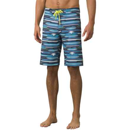 prAna Sediment Boardshorts (For Men) in Dusky Skies Playa - Closeouts