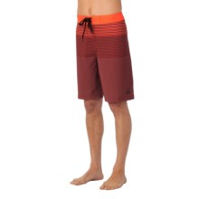 prAna Sediment Boardshorts (For Men) in Electric Orange - Closeouts