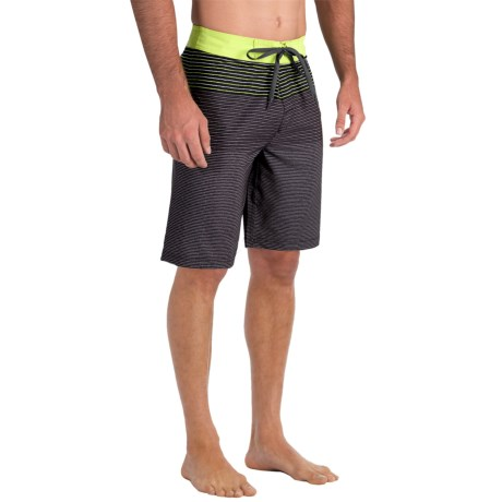 prAna Sediment Boardshorts (For Men) in Gravel
