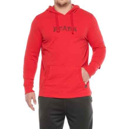 prAna Setu Hoodie Shirt - Organic Cotton, Long Sleeve (For Men) in Red Ribbon - Closeouts
