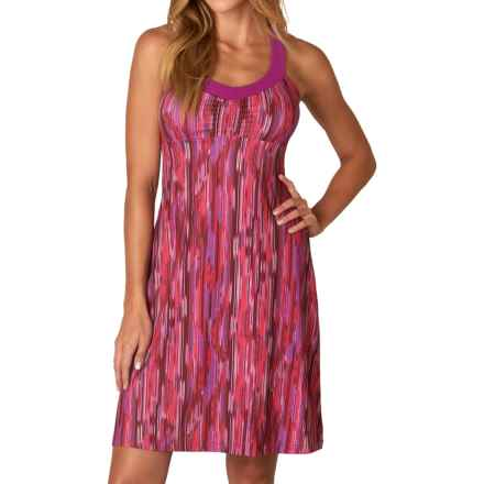 prAna Shauna Dress - Shelf Bra, Sleeveless (For Women) in Azalea Rainblur - Closeouts