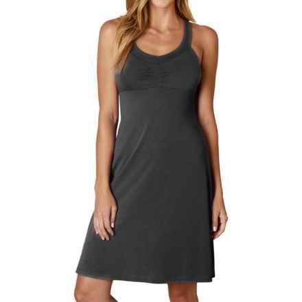 prAna Shauna Dress - Shelf Bra, Sleeveless (For Women) in Black - Closeouts