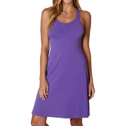 prAna Shauna Dress - Shelf Bra, Sleeveless (For Women) in Ultra Violet - Closeouts
