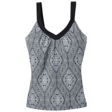 prAna Shiloh Tank Top (For Women) in Black Kaleidoscope - Closeouts