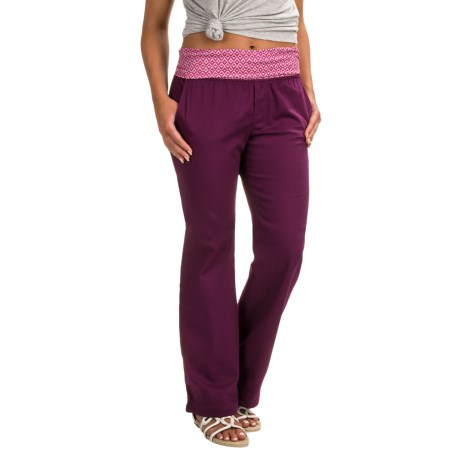 prAna Sidra Pants (For Women) in Grapevine Compass Combo