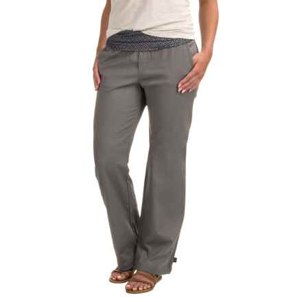 prAna Sidra Pants (For Women) in Gravel Compass Combo - Closeouts