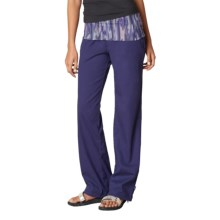 prAna Sidra Pants (For Women) in Indigo - Closeouts