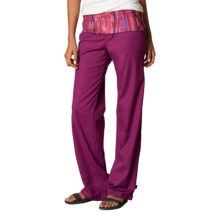 prAna Sidra Pants (For Women) in Light Red Violet - Closeouts