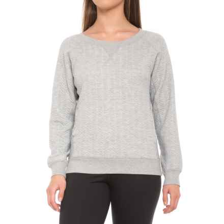 prAna Silverspring Shirt - Long Sleeve (For Women) in Heather Grey - Closeouts