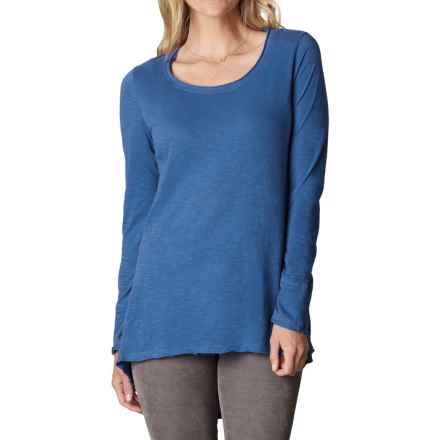 prAna Stellan Tunic Shirt - Organic Cotton, Long Sleeve (For Women) in Vintage Cobalt - Closeouts