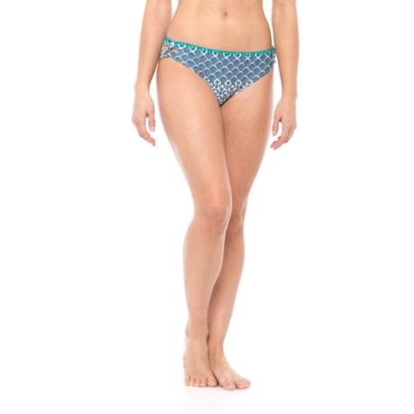 prAna Stina Bikini Bottoms - UPF 50+ (For Women) in Supernova Sevilla