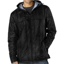prAna Stinger Hybrid Hoodie Jacket - Insulated (For Men) in Black - Closeouts