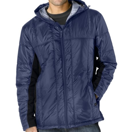 prAna Stinger Hybrid Jacket - Insulated (For Men) in Sea Blue