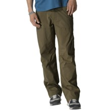 prAna Stretch Zion Pants - Roll-Up Cuffs (For Men) in Cargo Green - Closeouts