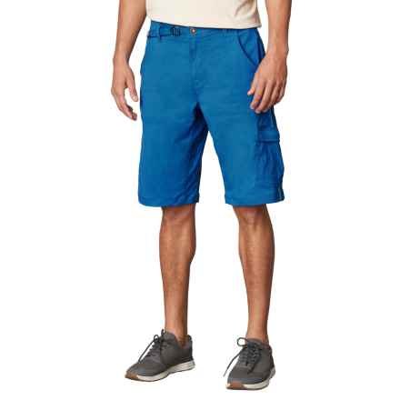 prAna Stretch Zion Shorts (For Men) in Vortex Blue - Closeouts