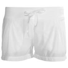 prAna Sunrise Shorts (For Women) in White - Closeouts