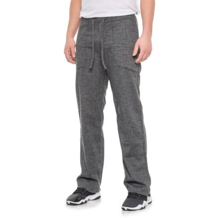 3a46d4a99f61 prAna Sutra Pants (For Men) in Black Herringbone - Closeouts