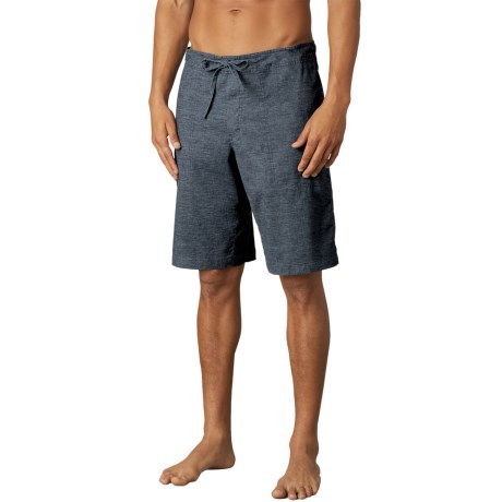 prAna Sutra Shorts - Hemp, Recycled Materials (For Men) in Nautical