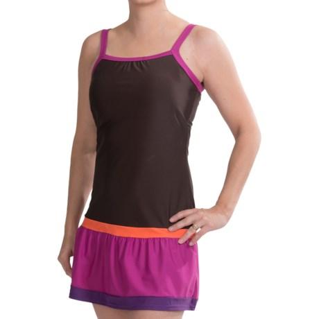 prAna Synergy Cover-Up Dress - Built-In Shelf Bra, Sleeveless (For Women) in Espresso