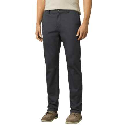 prAna Table Rock Chino Pants - Slim Fit (For Men) in Black - Closeouts