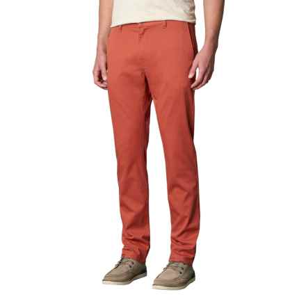 prAna Table Rock Chino Pants - Slim Fit (For Men) in Red Clay - Closeouts