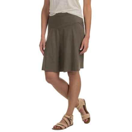 prAna Taj Skirt - Organic Cotton (For Women) in Cargo Green - Closeouts