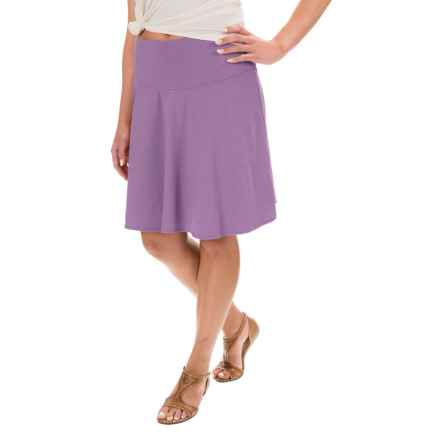 prAna Taj Skirt - Organic Cotton (For Women) in Purple Mountain - Closeouts
