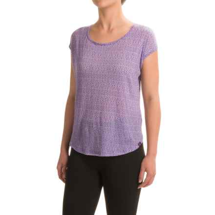 prAna Tandi Shirt - Organic Cotton, Short Sleeve (For Women) in Ultra Violet - Closeouts