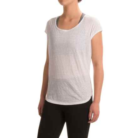 prAna Tandi Shirt - Organic Cotton, Short Sleeve (For Women) in White - Closeouts