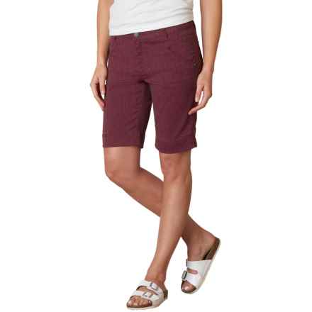 prAna Tashia Shorts (For Women) in Black Plum - Closeouts