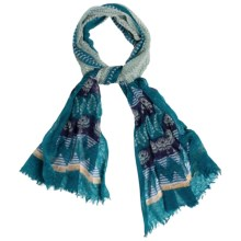 prAna Tassel Scarf (For Women) in Cast Blue - Closeouts