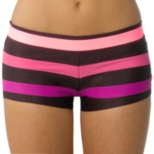 prAna Tavarua Swimsuit Bottoms - Boy-Short (For Women) in Espresso - Closeouts