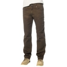 prAna Theorem Twill Jeans (For Men) in Brown - Closeouts