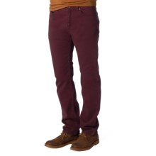 prAna Theorem Twill Jeans (For Men) in Mahogany - Closeouts