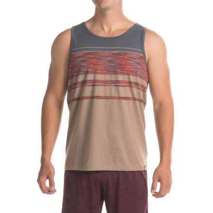 prAna Throttle Tank Top - Organic Cotton (For Men) in Dark Khaki - Closeouts