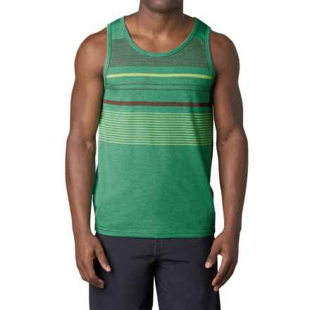 prAna Throttle Tank Top - Organic Cotton (For Men) in Dusty Pine - Closeouts