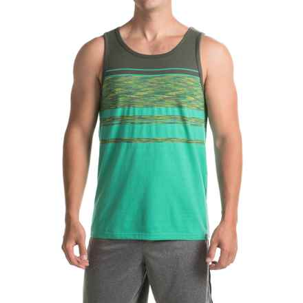 prAna Throttle Tank Top - Organic Cotton (For Men) in Emerald Waters - Closeouts