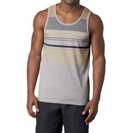 prAna Throttle Tank Top - Organic Cotton (For Men) in Greystone - Closeouts