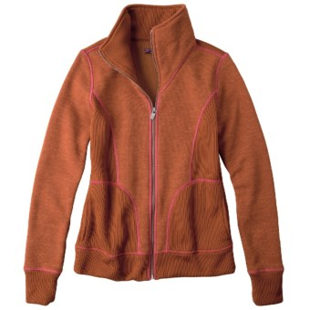 prAna Tobi Jacket - Full Zip (For Women) in Clay