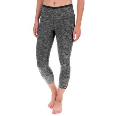 prAna Tori Yoga Capris (For Women) in Black - Closeouts