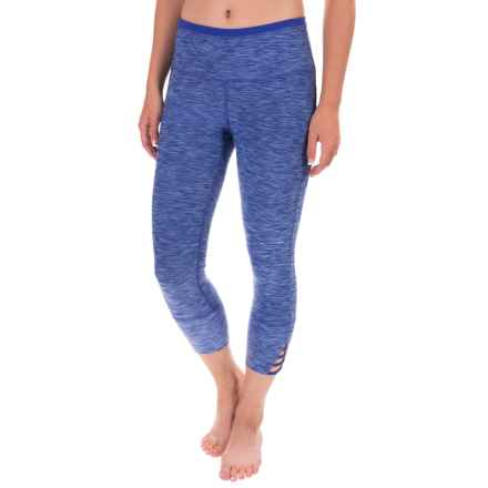 prAna Tori Yoga Capris (For Women) in Cobalt - Closeouts