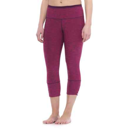 prAna Tori Yoga Capris (For Women) in Cosmo Pink - Closeouts