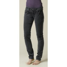 prAna Trinity Cord Pants - Stretch Cotton (For Women) in Coal - Closeouts